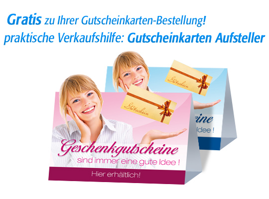 "Gutschein-Klappkarten ""exotic beauty"""