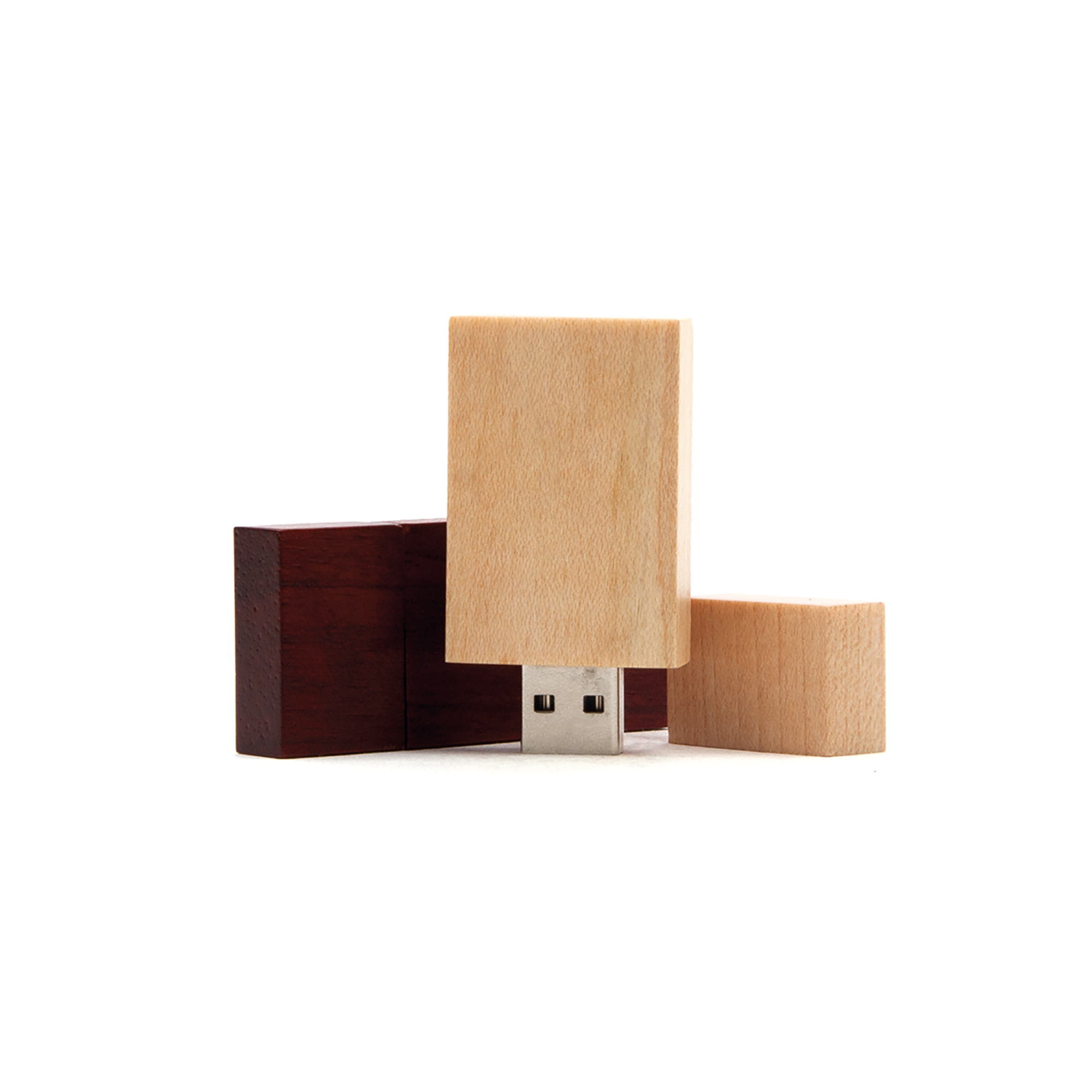 USB-Stick Wood Star